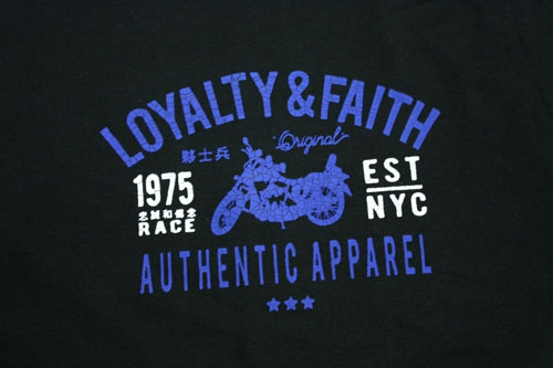 Loyalty and Faith Brand Polo Shirt