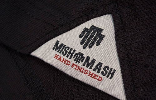 Mish Mash Black Polo Shirt